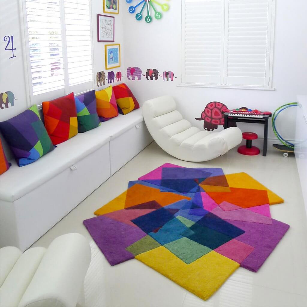 Colourful Contemporary Rugs - After Matisse Rug