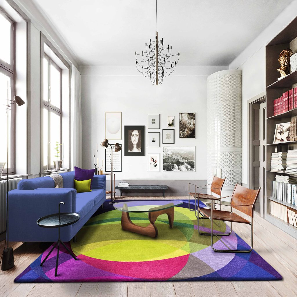 Large Abstract Rugs - Galaxy