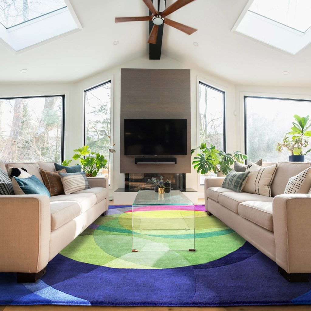 Large Contemporary Rugs - Galaxy