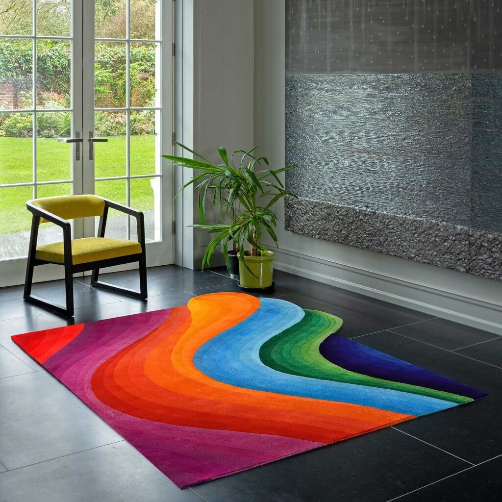 Modern-Designer-Rugs-The-Wave
