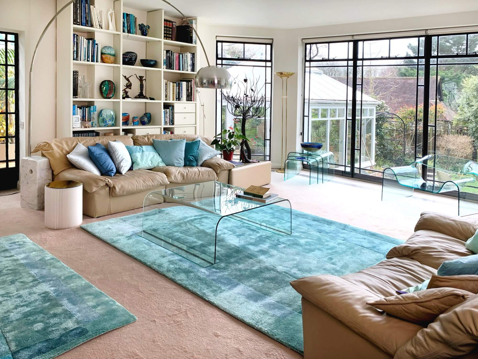 Spring Clean - Aqua Teal Sea Rug
