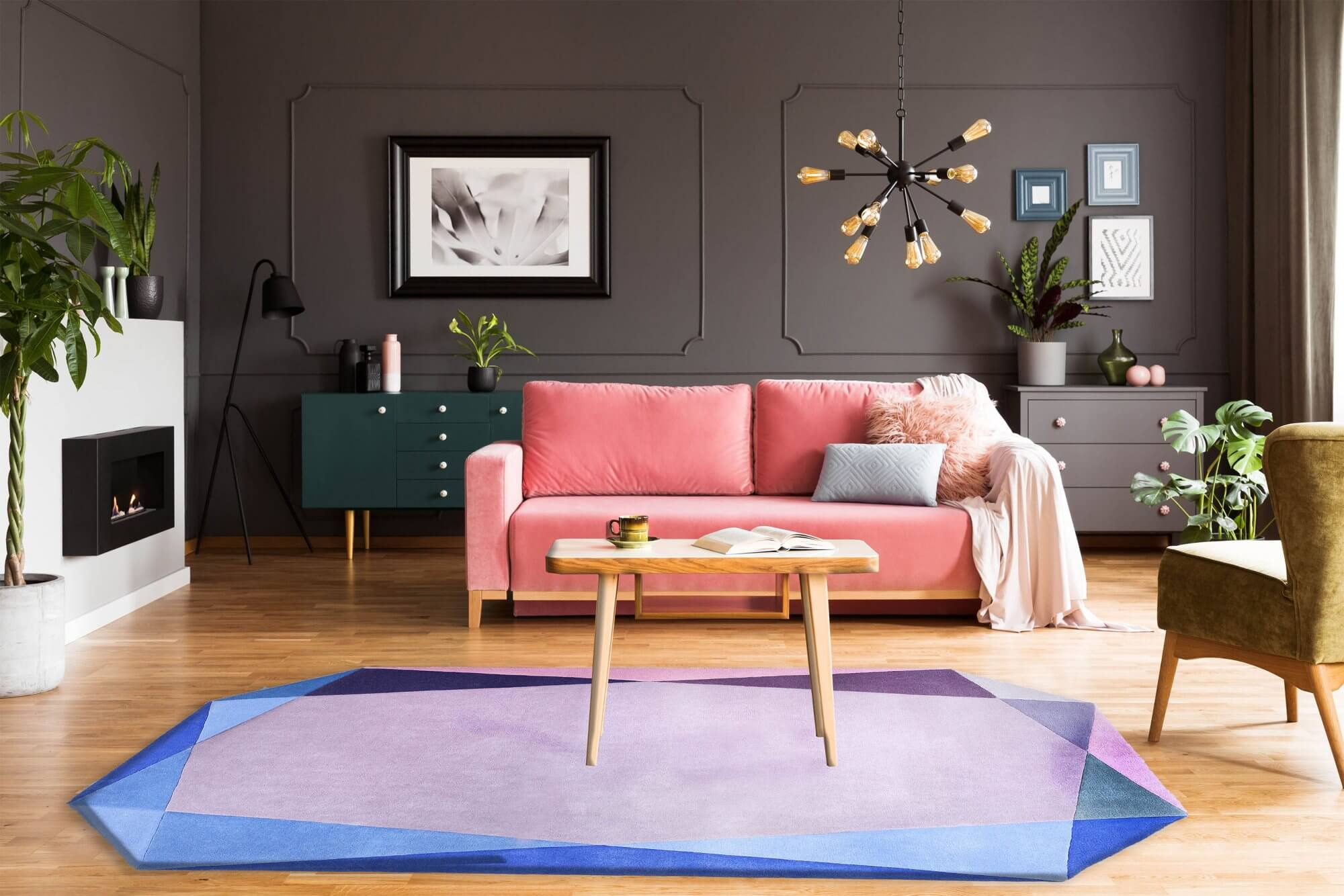 Spring Clean - Jewel Sky Rose Rug
