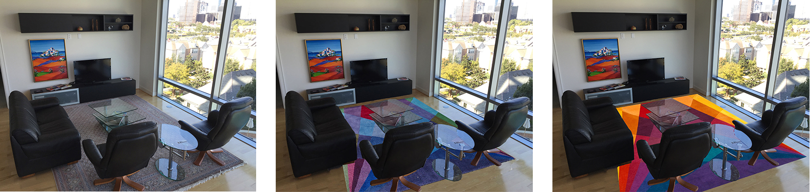 Colourful Living Room Rugs - USA Home