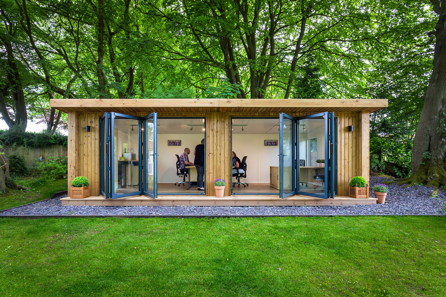 Team Office Space by Green Retreats 1