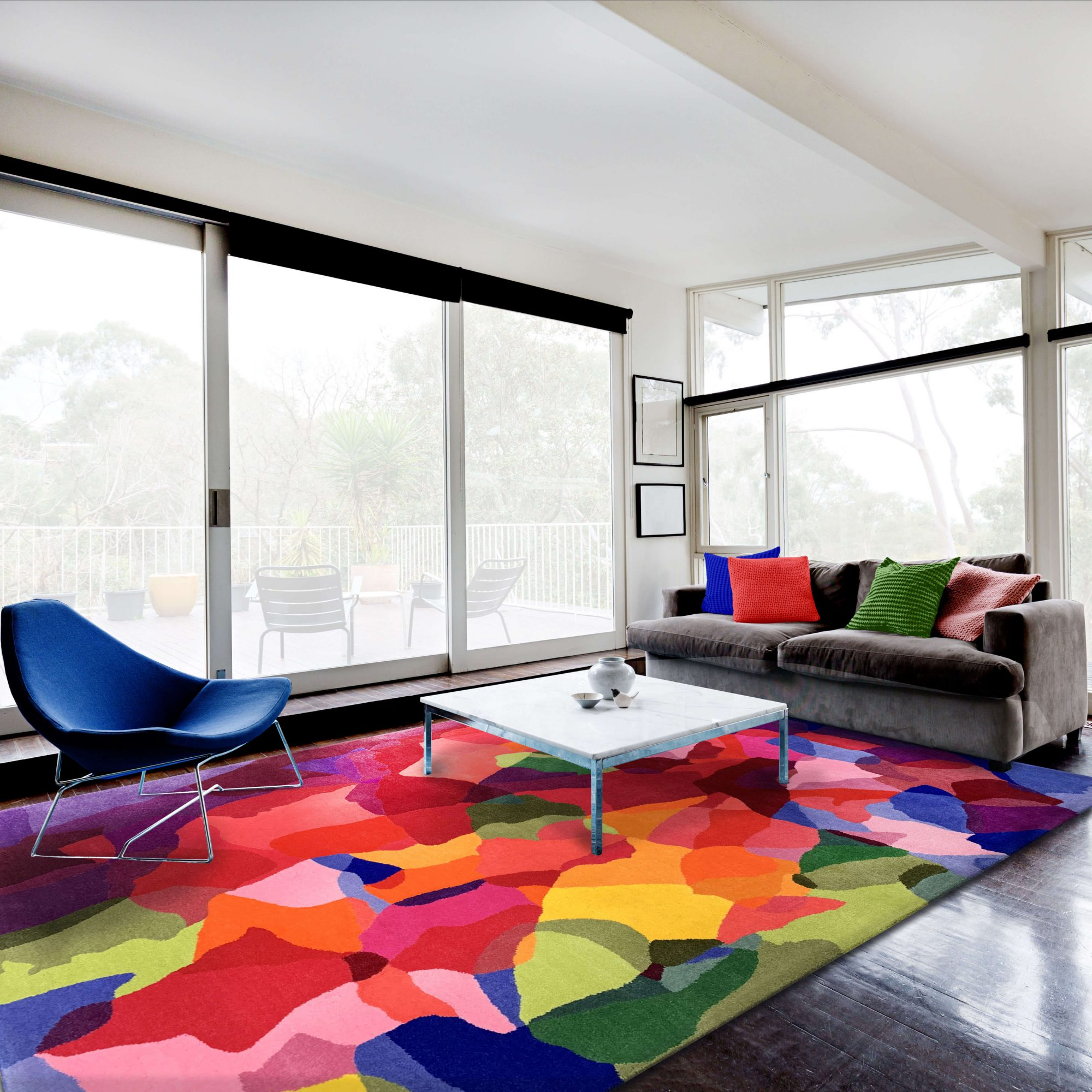 How to protect your designer rug - Microseal
