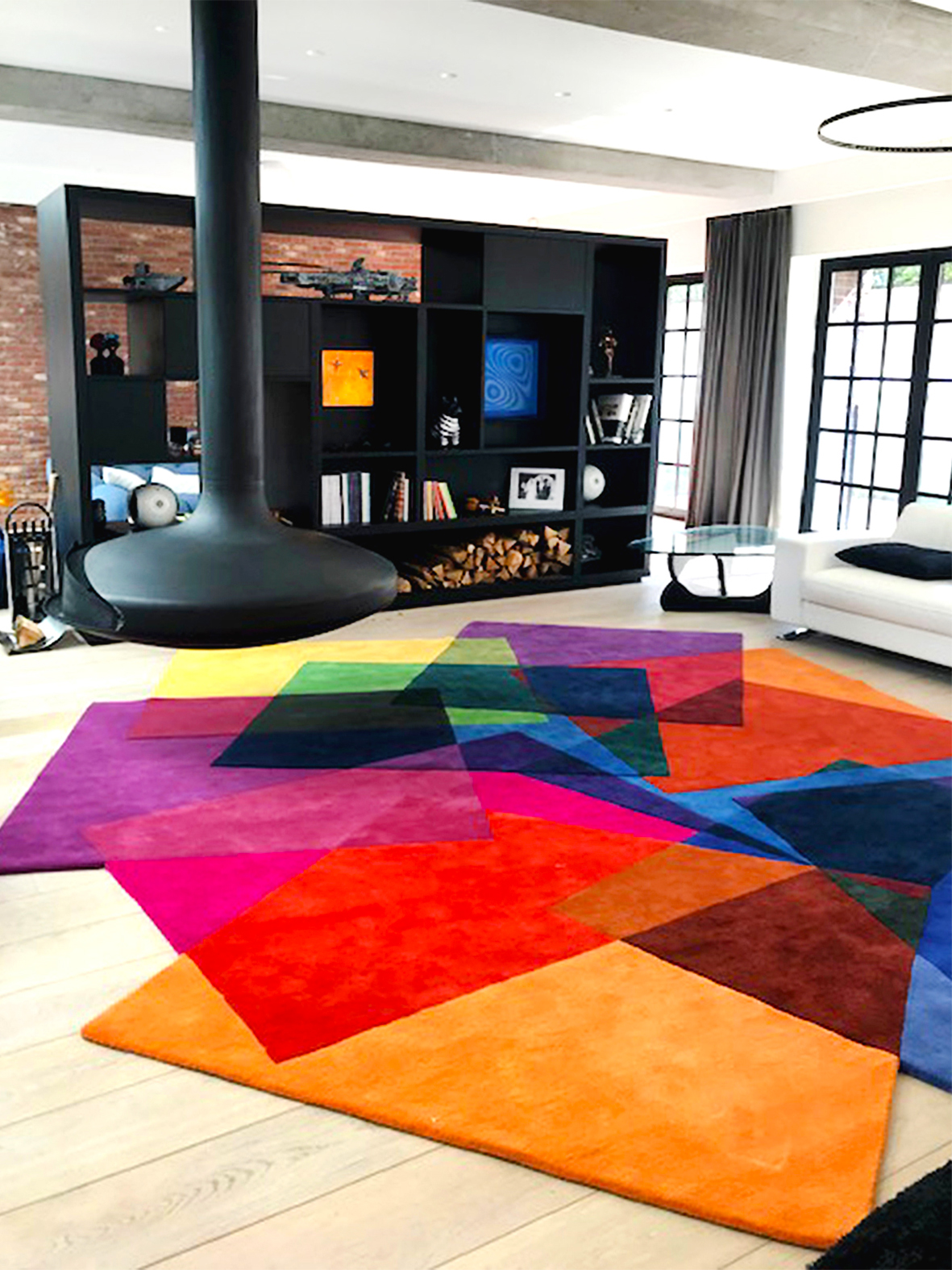 Large Contemporary Rug - After Matisse Rug