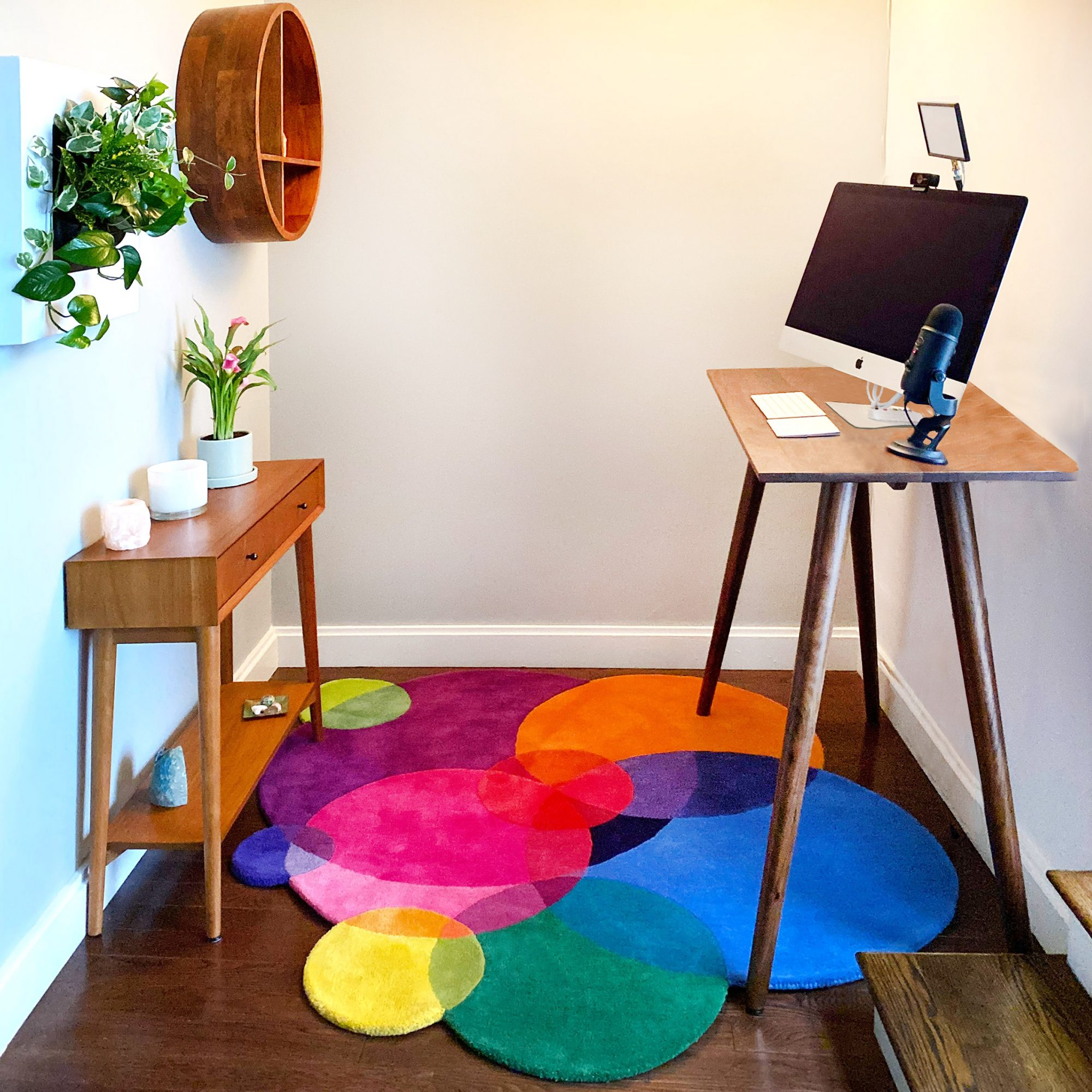 Home Office Inspiration - Bubbles Rug